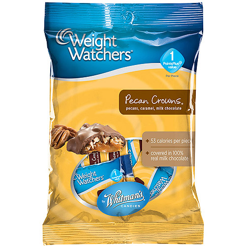 Weight Watchers: Pecans & Caramel Pecan Crowns, 3 Oz