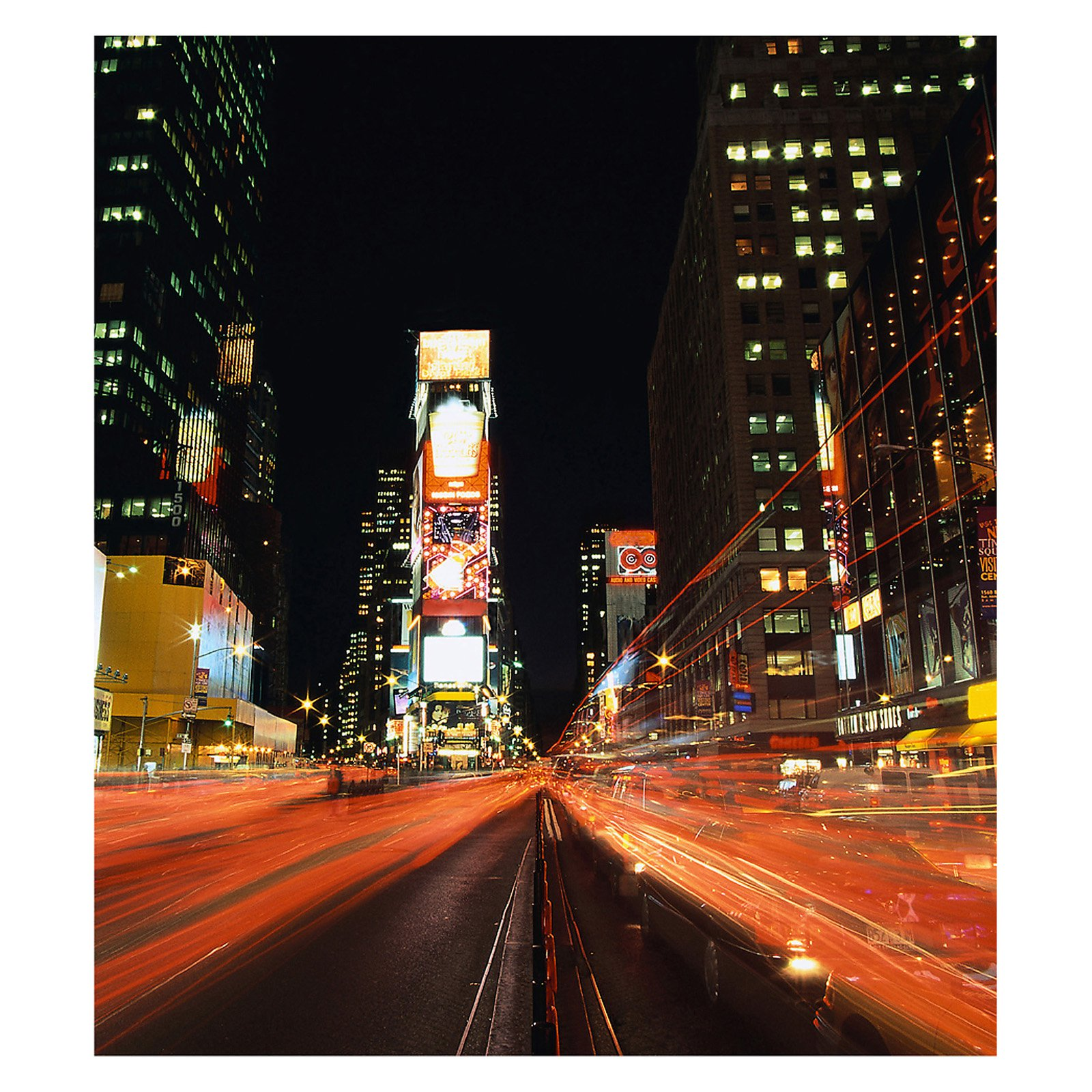 Times Square Photographic Wall Panel Decals