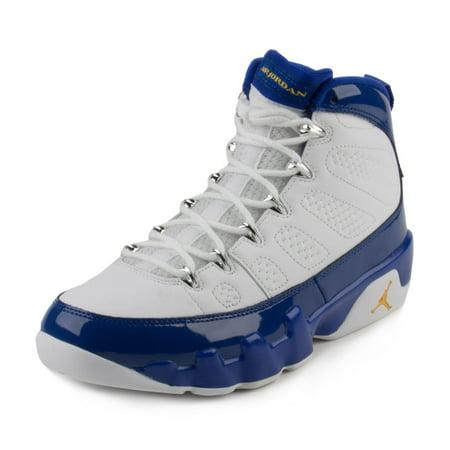 ab9d7dac78f61 Nike Mens Air Jordan 9 Retro White/Tour Yellow-Concord 302370-121