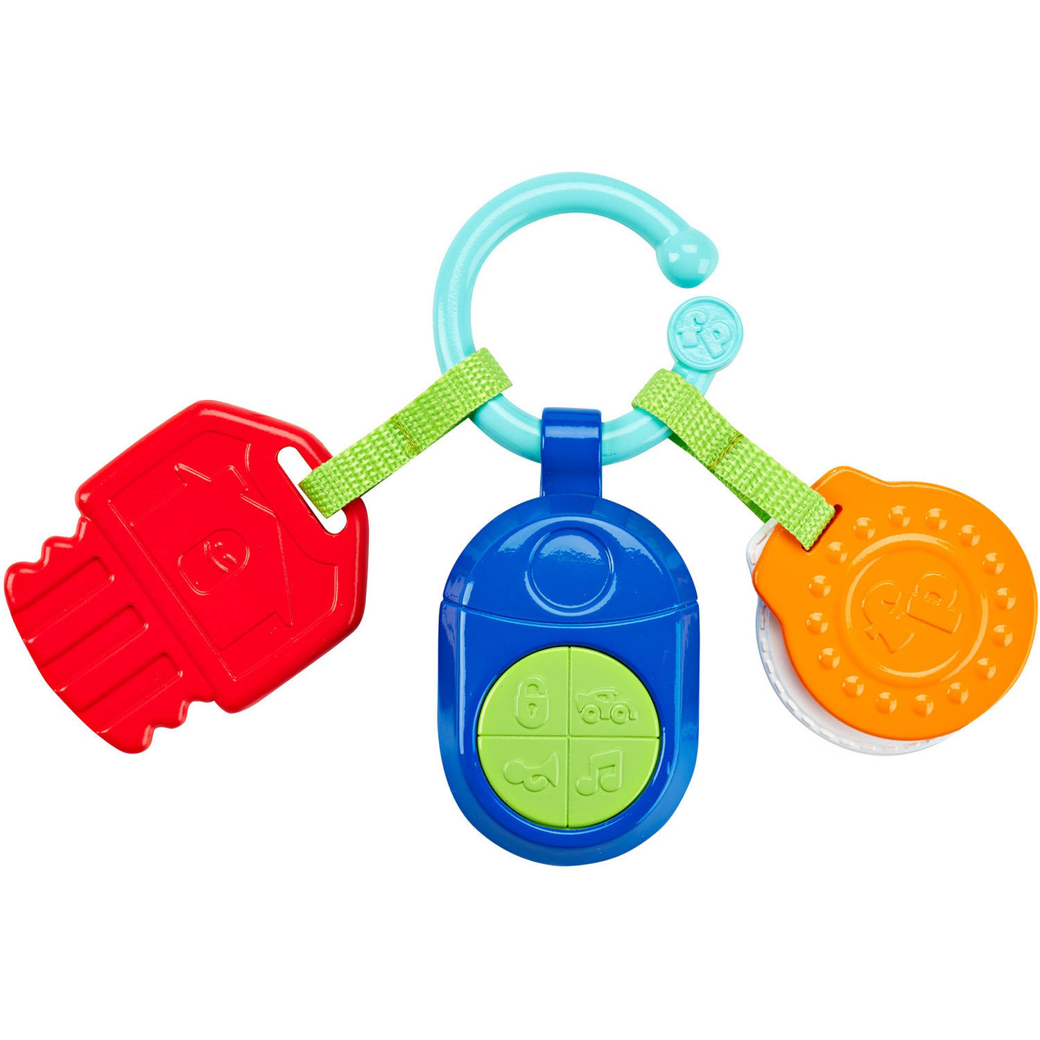 Fisher Price Musical Clacker Keys by Fisher-Price