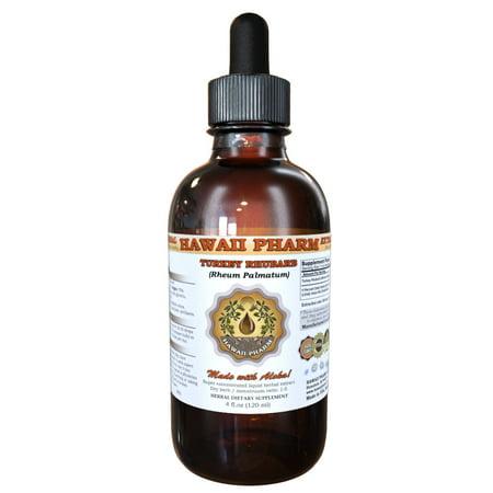 Turkey rhubarb (Rheum palmatum) Tincture, Organic Dried Root Liquid Extract, Jin Wen Da Huang, Herbal Supplement 2 - Indian Rhubarb Root