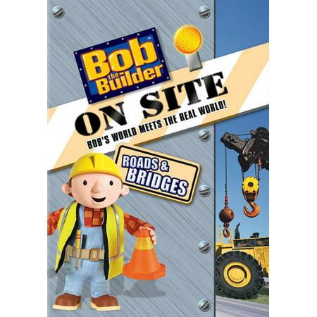 Bob The Builder On Site Roads   Bridges  Dvd  Nla  Universal