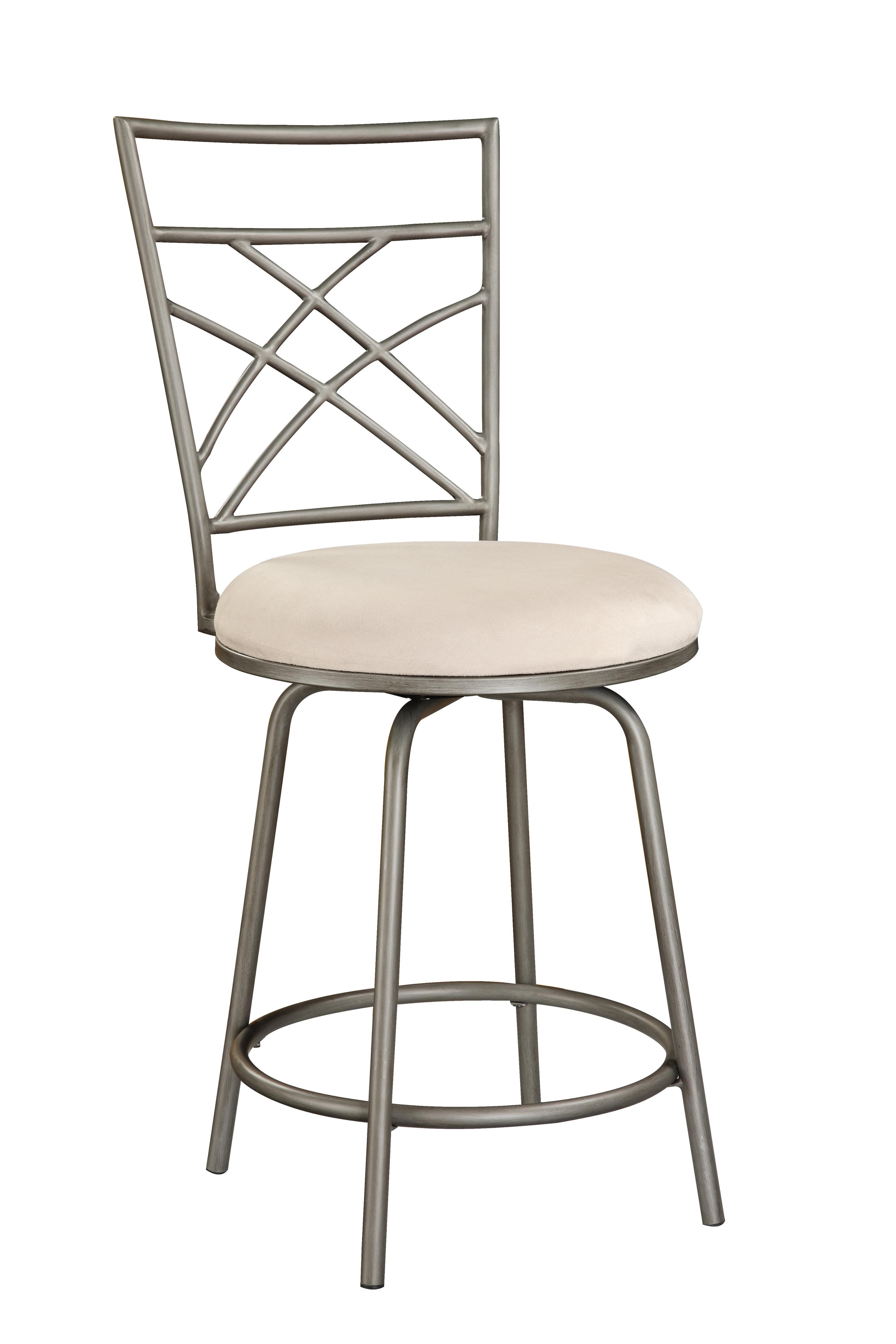 Astounding Criss Cross Counter Stool Pewter Walmart Com Lamtechconsult Wood Chair Design Ideas Lamtechconsultcom