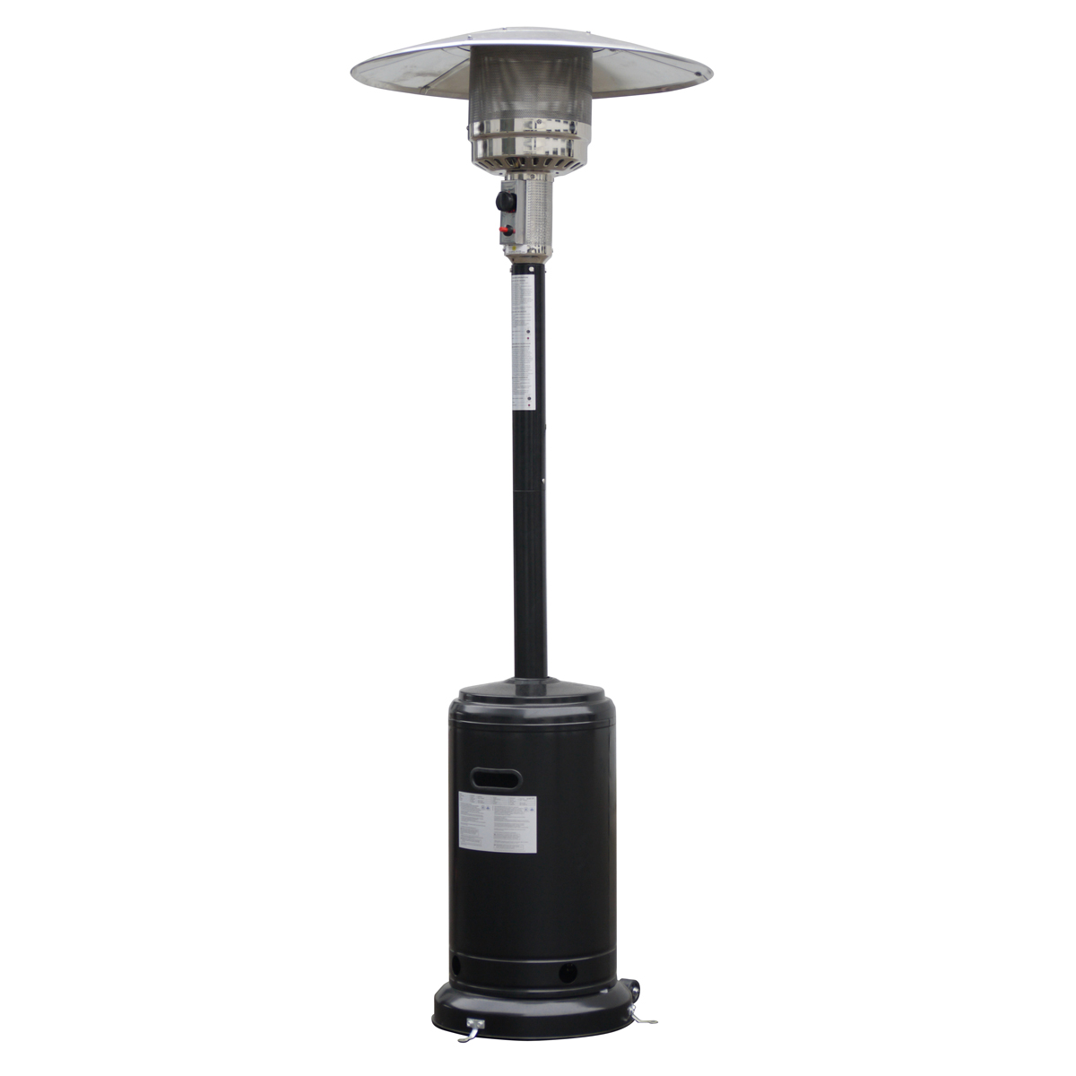 - Goplus Stylish Standing Patio Heater W/ Accessories Black - Walmart.com