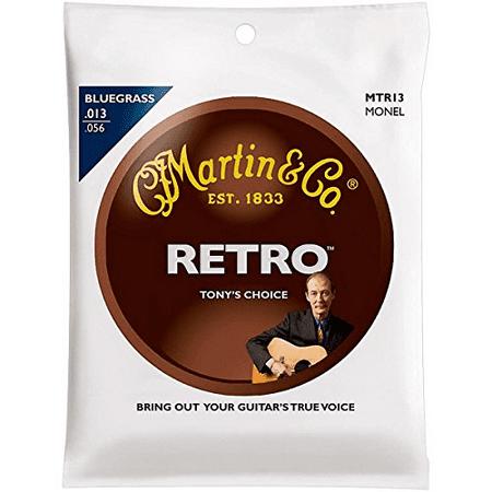 Martini Guitar - Martin MTR13 Retro Acoustic Guitar Strings Tony Rice Signature Medium 13-56