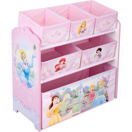 Disney Princess Multi Bin Toy Organizer Walmart Com