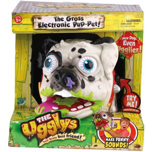 Moose Toys The Ugglys S2 Puppet – Pug, St. Bernard, or Dalmatian