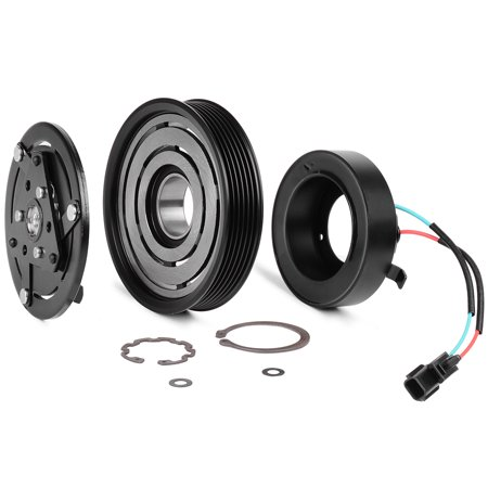 A/C AC Compressor Clutch Kit Hub Pulley Bearing for 2007-12 Nissan Altima/Nissan Sentra -