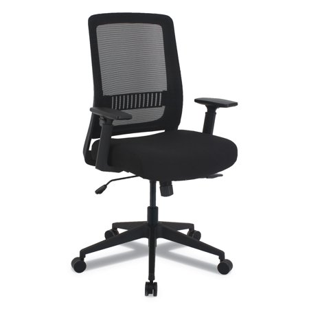 Multifunction Base - Alera EY Series Multifunction Chair, Supports up to 275 lbs., Black Seat/Black Back, Black Base