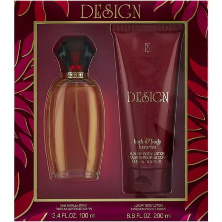 Paul Sebastian Design 2 Piece Perfume Gift Set For Women 1 ea