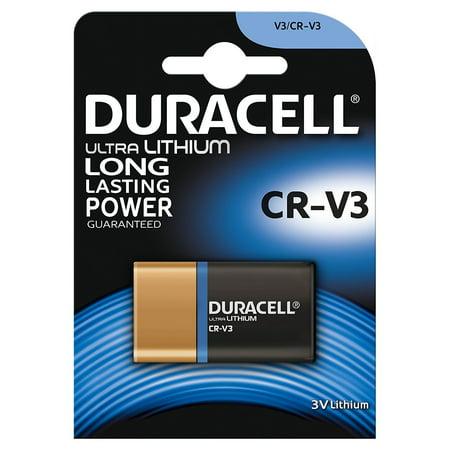 Duracell CRV3 3V Ultra Lithium Battery