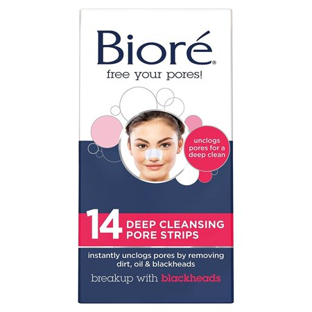 Biore Deep Cleansing Pore Strips for Nose 14 (Best Cleanser For Pore Minimizing)