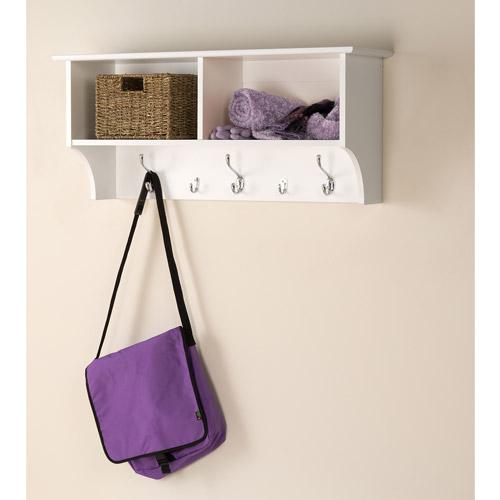 "Prepac Hanging Entryway Wall Shelf, 36"" Wide"
