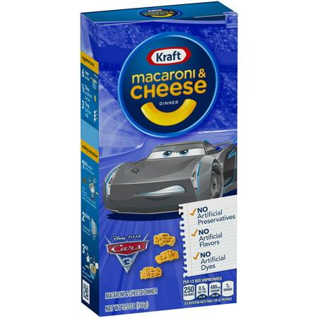 kraft disney pixar cars 3 shapes macaroni cheese dinner. Black Bedroom Furniture Sets. Home Design Ideas