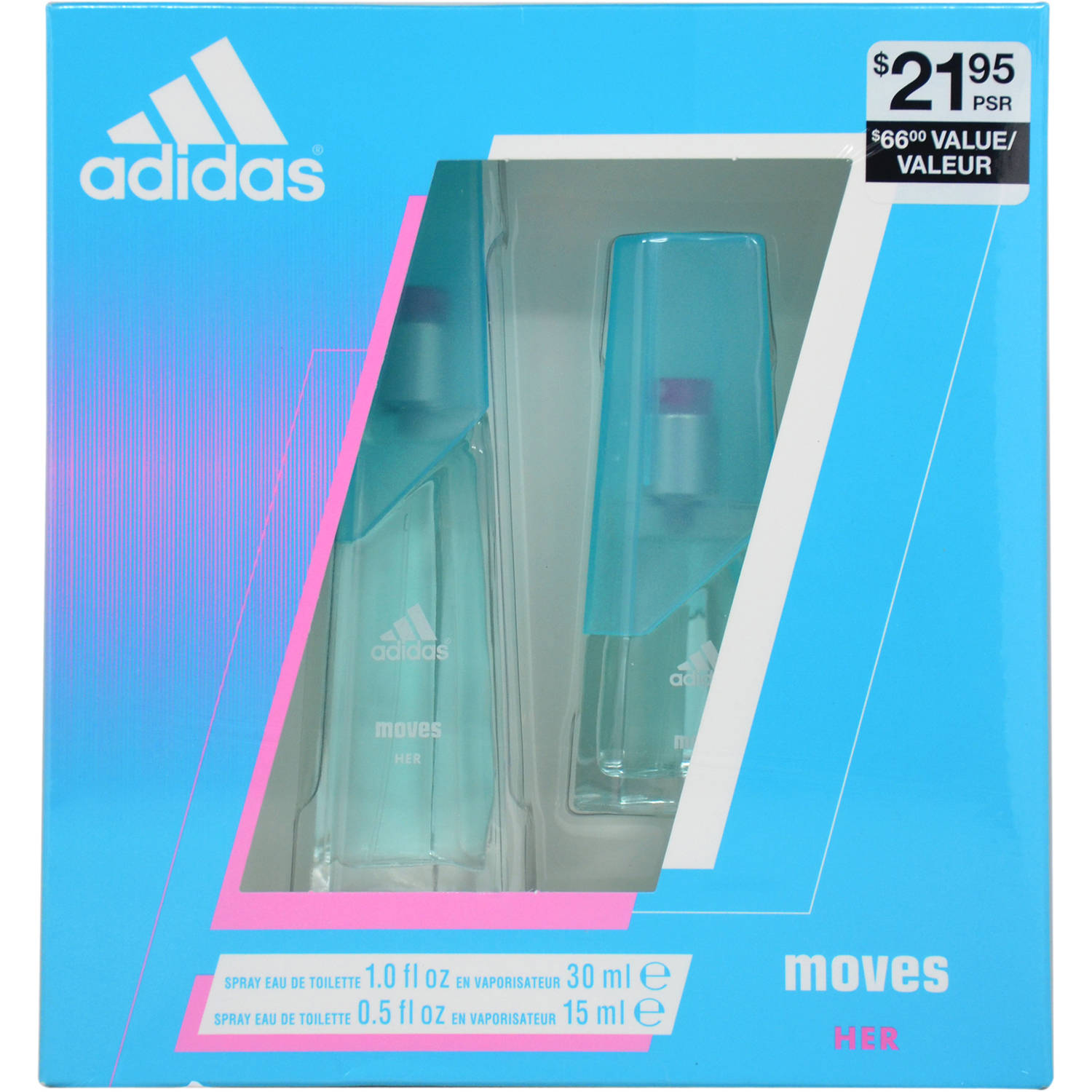 Adidas Adidas Moves Gift Set, 2 pc