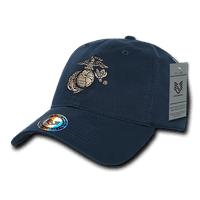 "USMC US Marines ""The Lieutenant"" Official Military Caps Hats Navy"