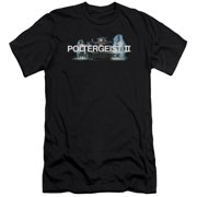 Poltergeist II Logo Mens Slim Fit Shirt