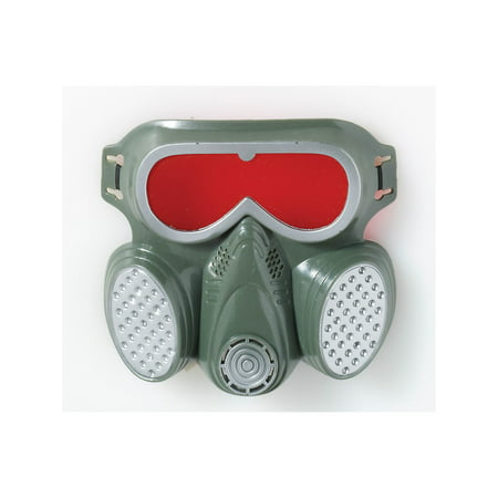 Biohazard Gas Mask Halloween Costume Accessory