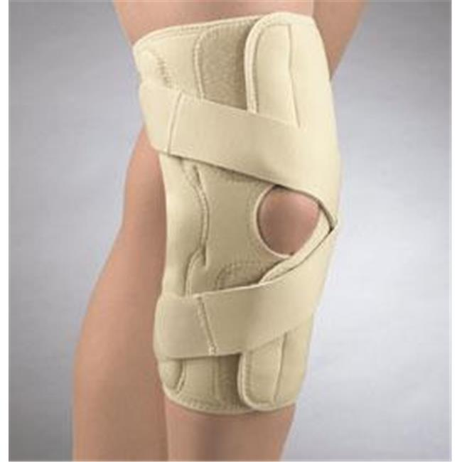 Fla 37-1511LBEG OA Arthritis Knee Brace for Right & Lateral Left, Beige, Extra Large