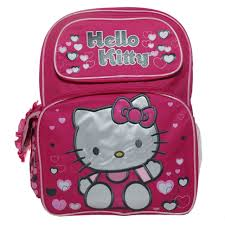 Hello Kitty Bag Pack (Backpack - Hello Kitty - Pink Lonely Hears 16