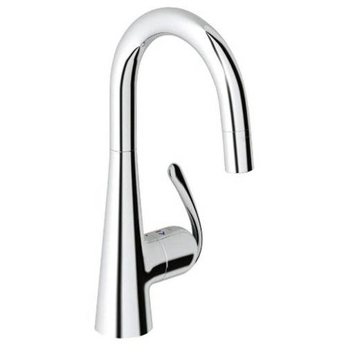 Grohe 32283000 Ladylux3 Pro Single Lever Kitchen Faucet Available in Various Colors - Walmart.com  sc 1 st  Walmart & Grohe 32283000 Ladylux3 Pro Single Lever Kitchen Faucet Available ...