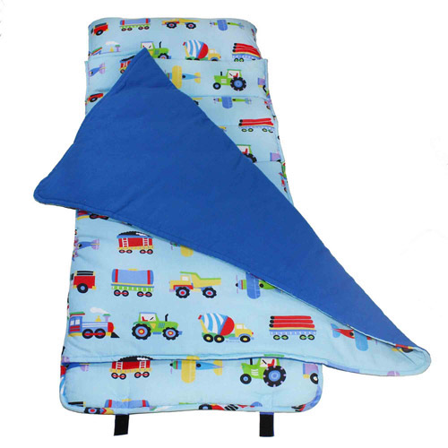 Wildkin Olive Kids Train, Planes, & Trucks Nap Mat