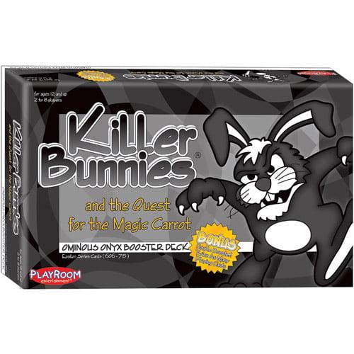 Playroom Entertainment Killer Bunnies Quest Onyx Booster Deck