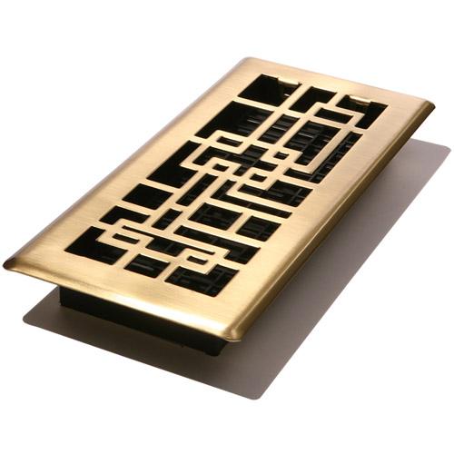 Decor Grates Abstract Floor Register
