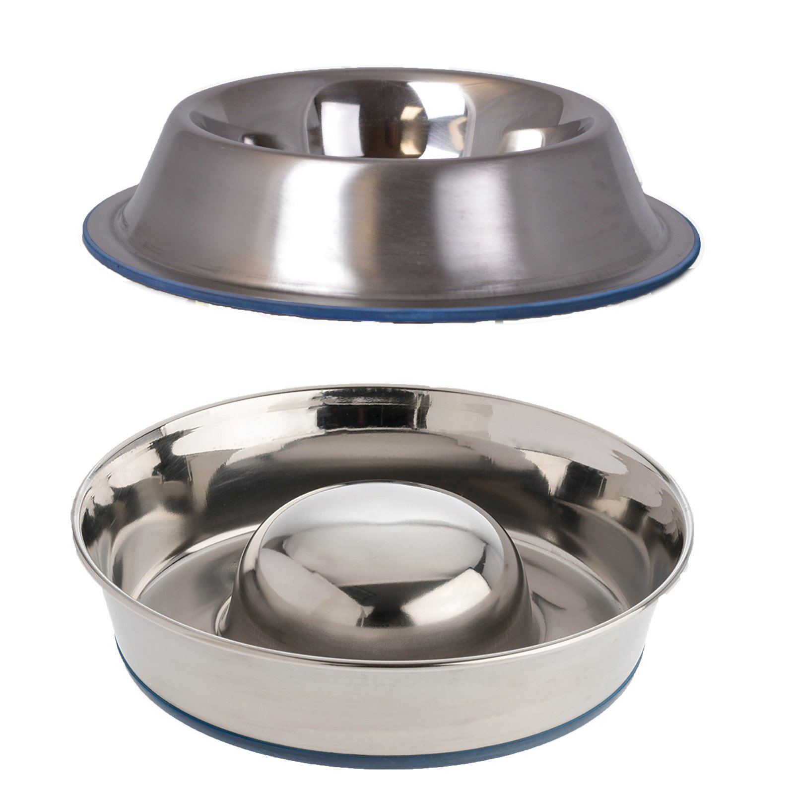 OurPets Slow Feed Bowl and No Tip Food Bowl