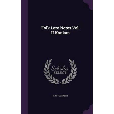 Folk Lore Notes Vol. II Konkan - image 1 of 1