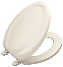 Surprising Kohler Stonewood Elongated Toilet Seat With Lid White Machost Co Dining Chair Design Ideas Machostcouk