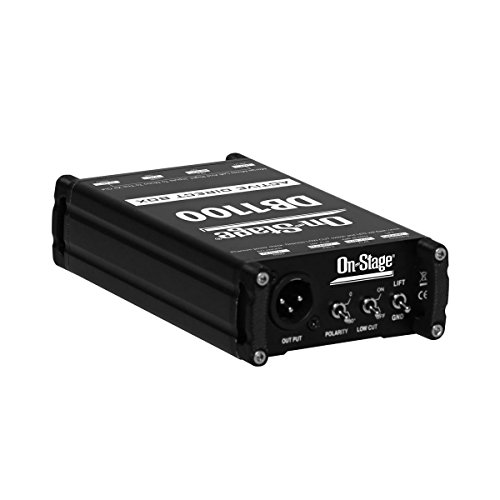 On-Stage DB1100 Active Direct Box with Stereo-to-Mono Summing by