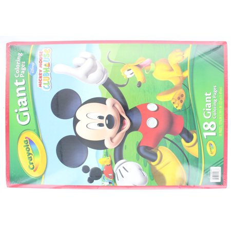Crayola Giant Coloring Pages, Mickey Mouse - Walmart.com