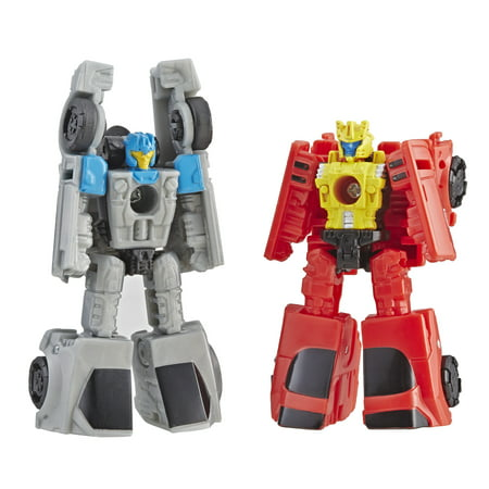 Transformers Generations War for Cybertron: Siege Micromaster WFC-S4 Autobot Race Car Patrol 2-pack Action Figure