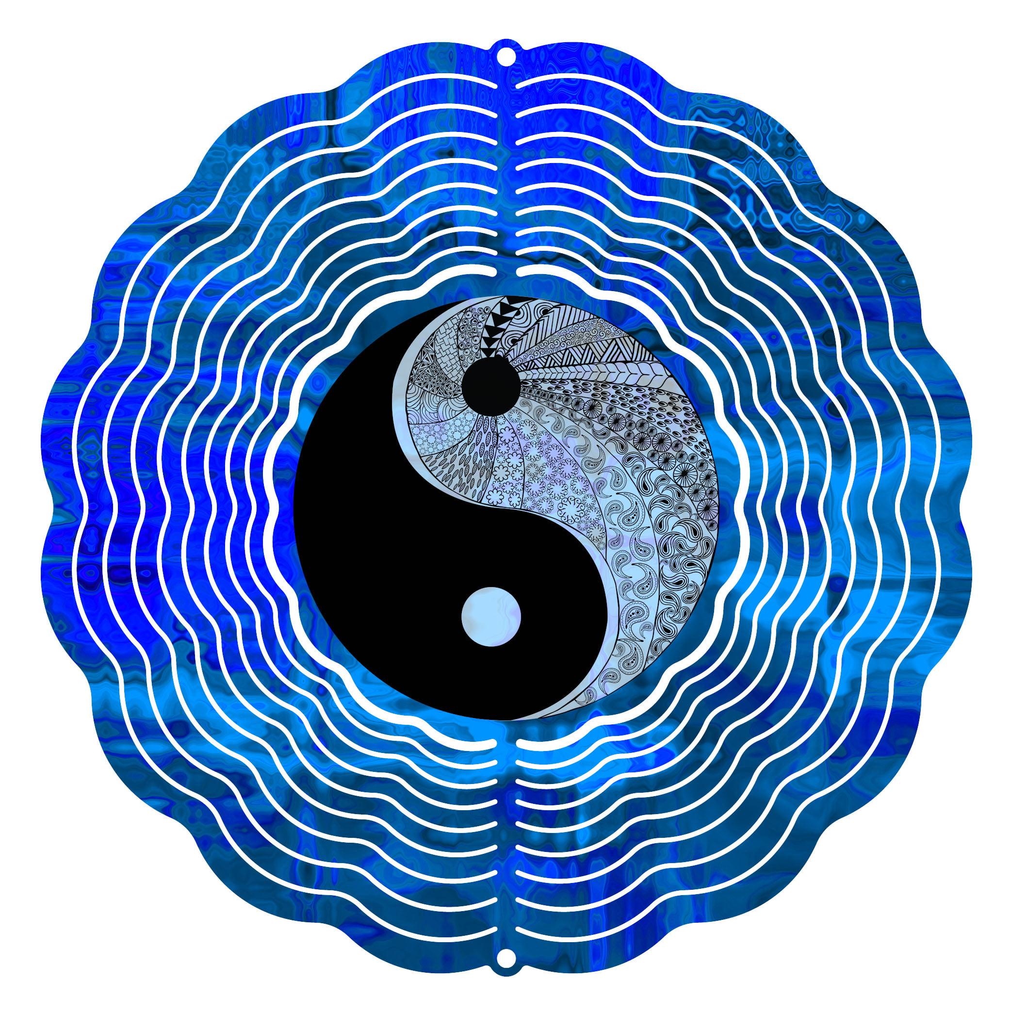 Next Innovations 10 in. Yin Yang Zen Wind Spinner by Next Innovations