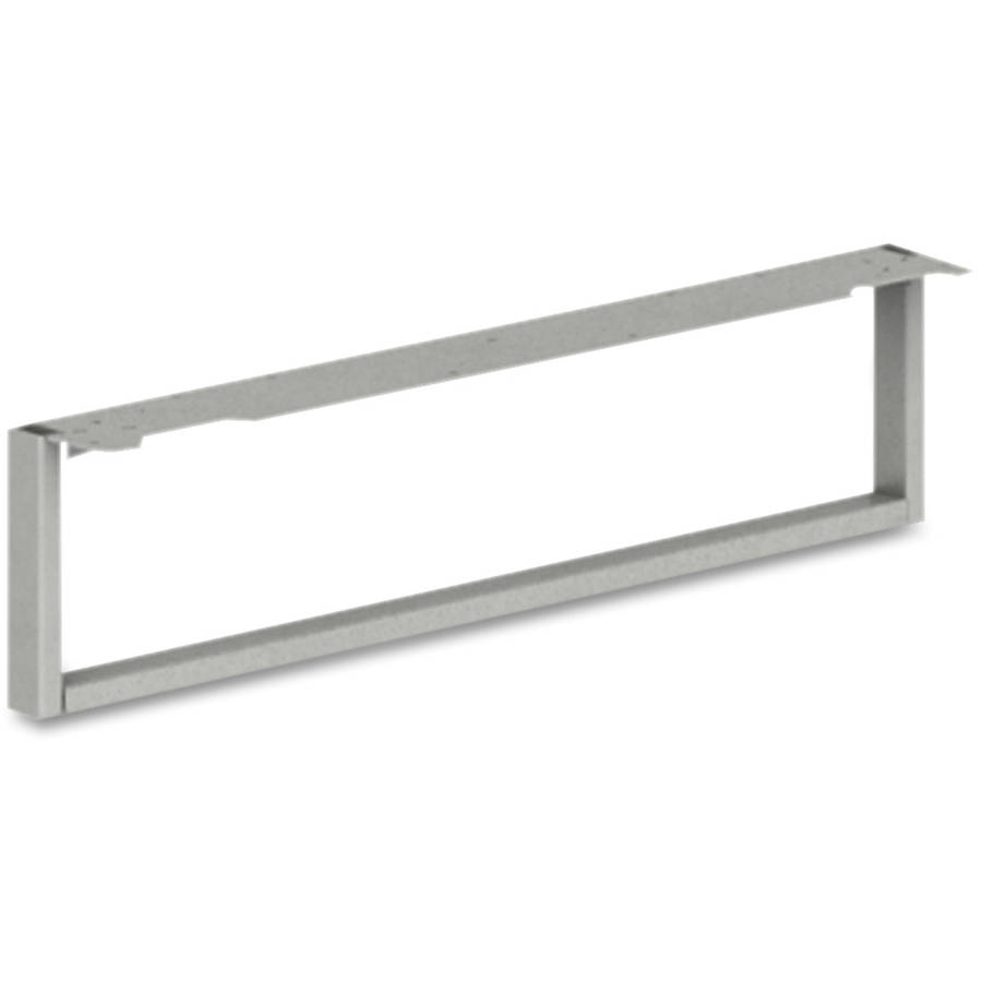 Hon Voi O-Leg Support for Low Credenza, Platinum Metallic