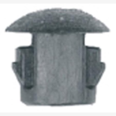 "K Tool International DYN-6923 Flush Type Blk Nyl Locking Hole Plugs, Hole Size: 3/16"", Head Size: 1/4"", Quantity: 10"