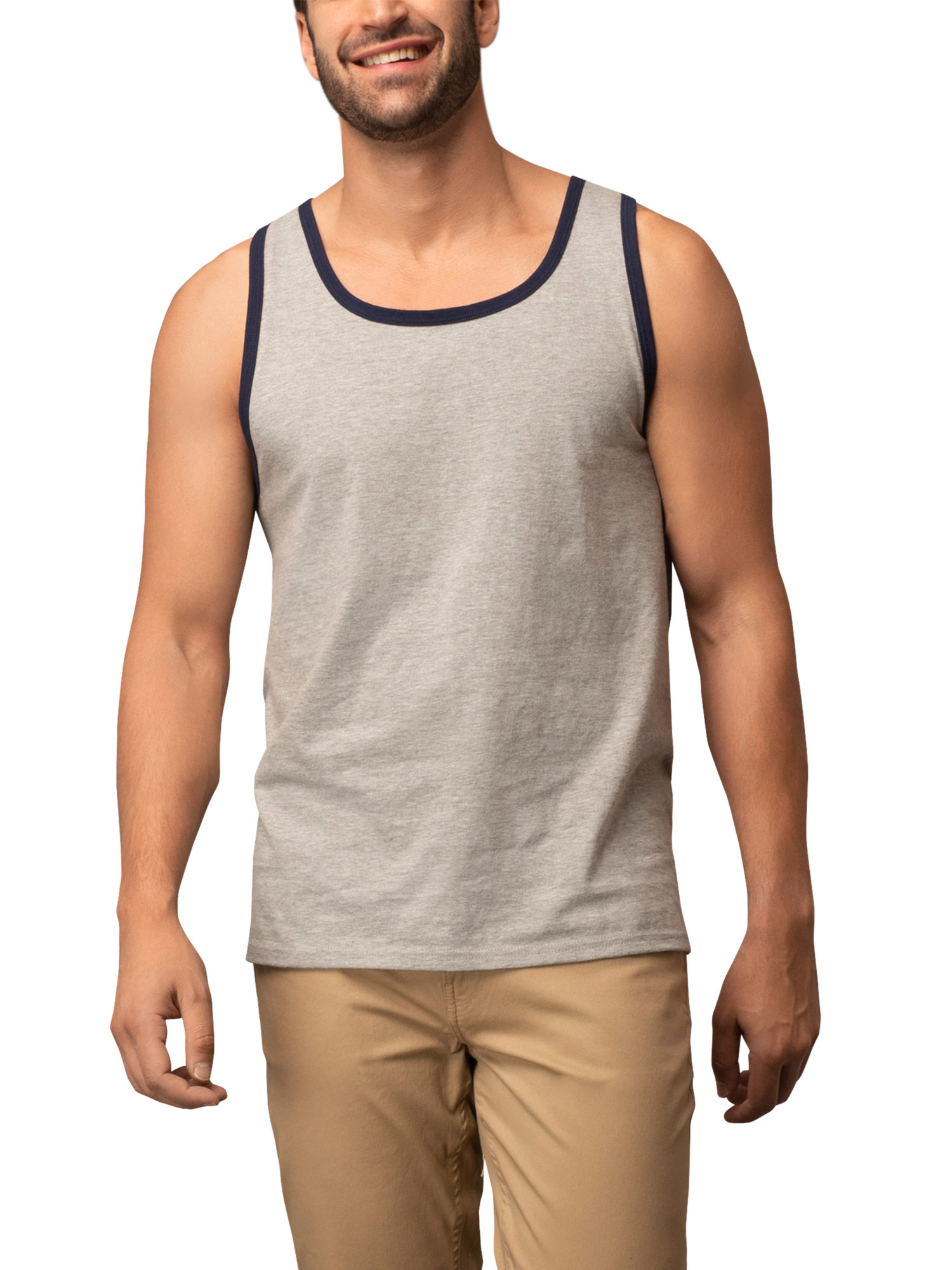 BC341 Tank Top Fruit Of The Loom Mens Athletic Sleeveless Vest