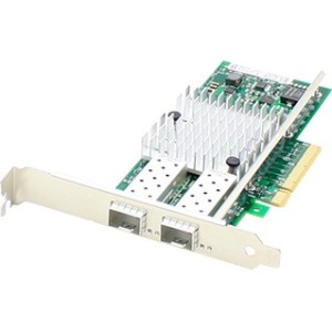 AddOn 10GbE Dual Open SFP+ Port PCIe x8 NIC F/Dell 430-4436-AOK - image 1 of 1