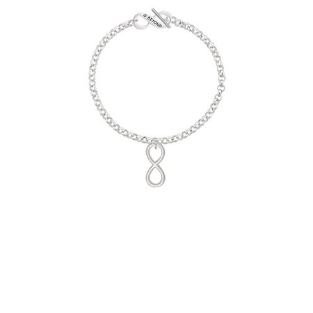 Large Infinity Sign & Beyond Infinity Toggle Chain Bracelet](Halloween Infinity Sign)
