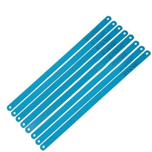 "Wideskall® 12"" inch High Spped 24 TPI Hacksaw Blades Set (Pack of 8)"
