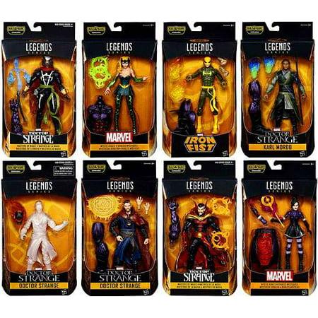 Doctor Strange Marvel Legends Dormammu Series Set of 8 Action Figures