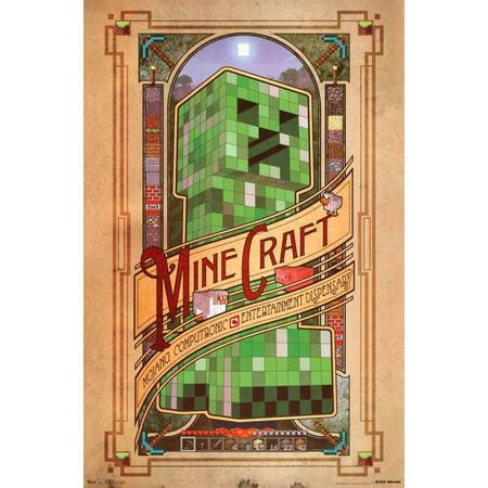 Minecraft Computronic Poster - 22x34