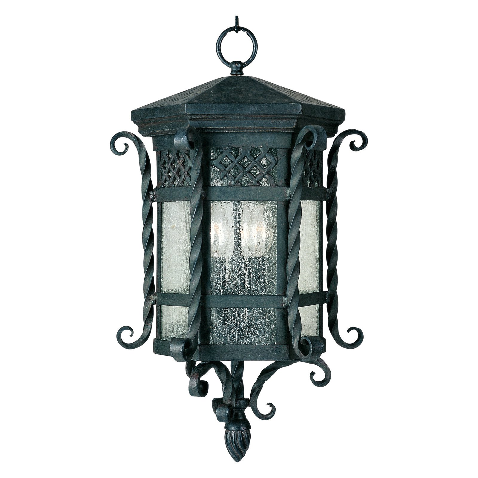 Maxim Scottsdale Outdoor Hanging Lantern - 21H in. Country Forge