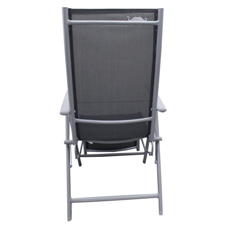 Moustache Garden Chaise Lounge chair Zero Gravity Camping Relax Chair , Heavy-Duty Rocking Reclining Chair Lounge Seat, Gray - 1/Pack - image 1 of 7