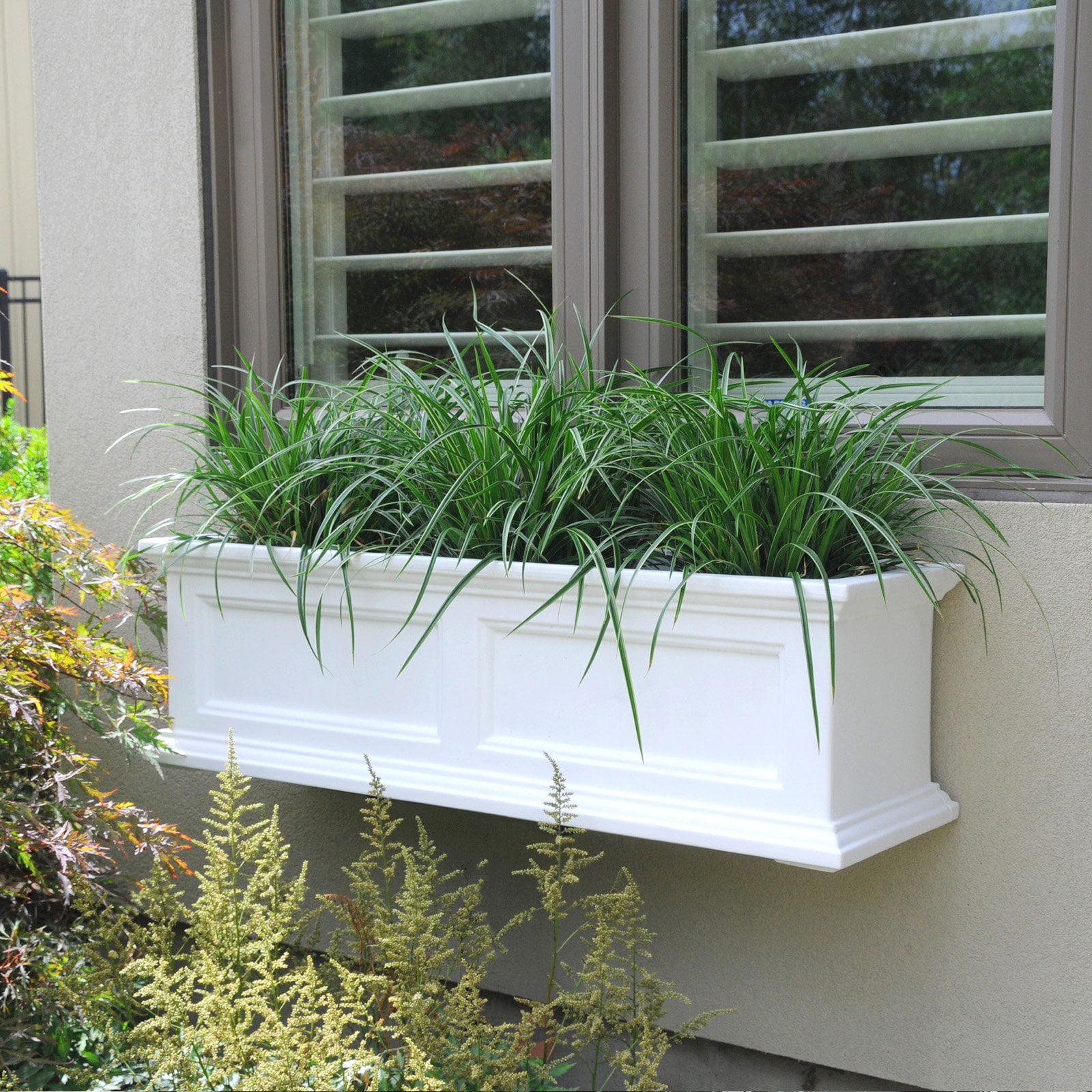 Fairfield Window Box 3FT White