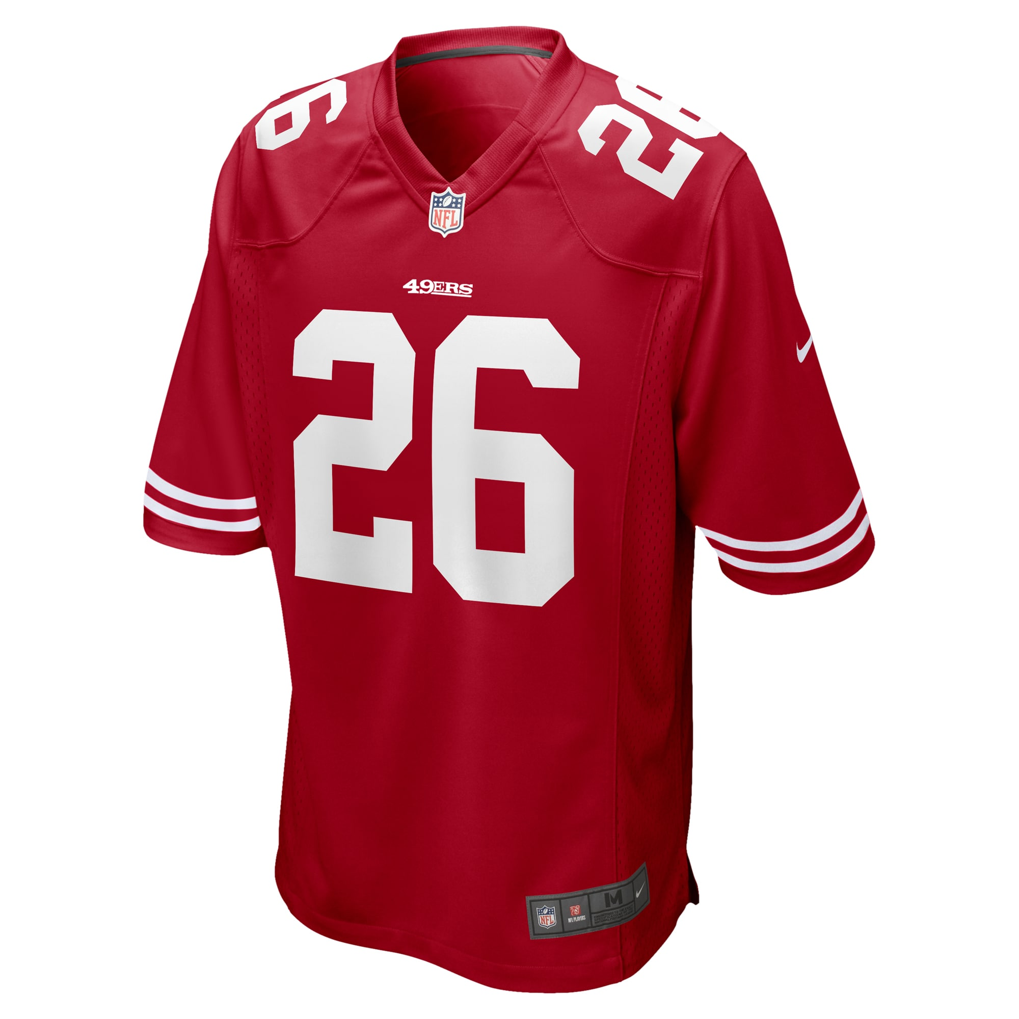 Tevin Coleman San Francisco 49ers Nike Game Jersey - Scarlet