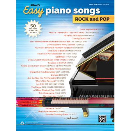 Alfred's Easy Piano Songs -- Rock & Pop : 50 Hits from Across the Decades](Halloween Song Piano)
