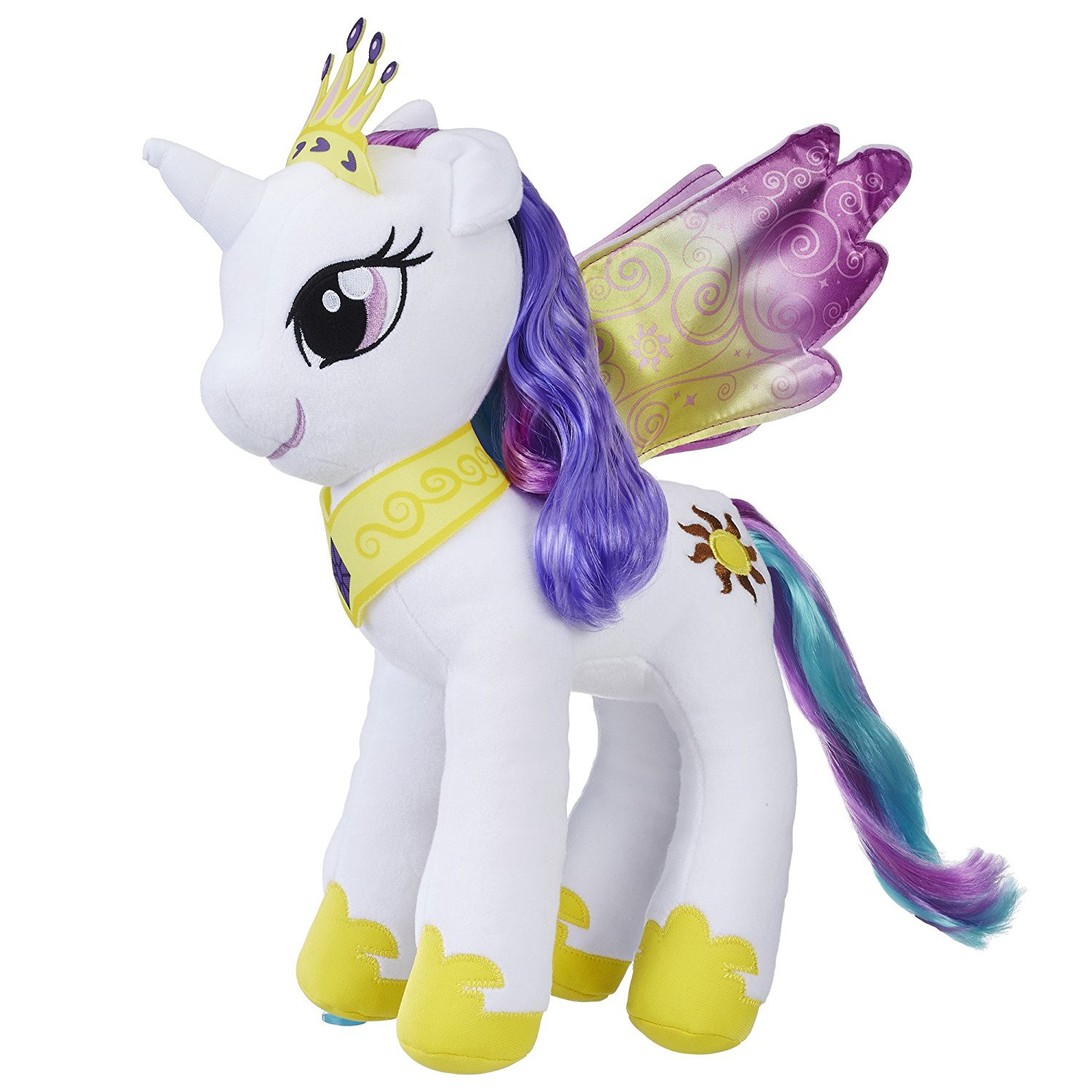 My Little Pony Large Hair Princess Celestia Plush by Hasbro