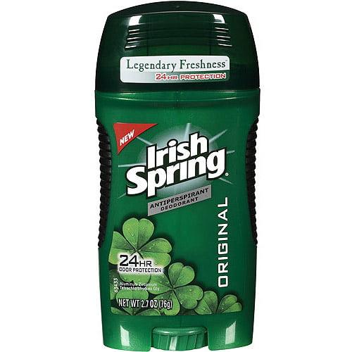 Irish Spring Antiperspirant Deodorant, 2.7 oz